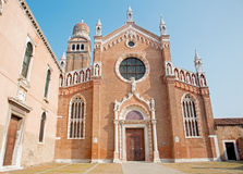 Venice - Madonna del Orto church Stock Photo