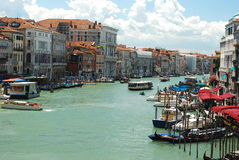 Venice main canal Stock Photos