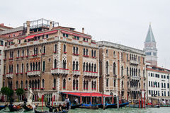 Venice Mansion Grand Canal Stock Photo