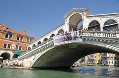 VENICE - March 28: Gondola at Stock Photo