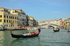 VENICE - March 28: Gondola at Stock Photography
