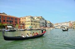 VENICE - March 28: Gondola at Stock Image