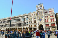 VENICE - March 28 : Tourists rest Stock Image