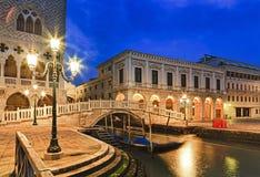 Venice Marco Doges Bridge Rise Stock Images