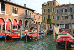 Venice market place Royalty Free Stock Image
