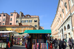 Venice market Stock Photos