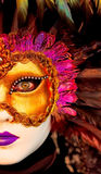 Venice mask. Traditional Venice mask with colorful decoration Stock Image