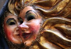 Venice mask. A beautiful venetian mask from Italy Royalty Free Stock Photography