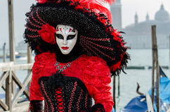 Venice Mask. Mask at the Venice Carnival 2013 Royalty Free Stock Photos