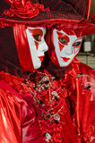 Venice Mask. Mask at the Venice Carnival 2013 Stock Image