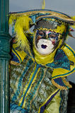 Venice Mask. Mask at the Venice Carnival 2013 Royalty Free Stock Photo