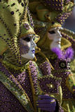 Venice Mask. Mask at the Venice Carnival 2014 Royalty Free Stock Photography