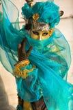 Venice Mask, Carnival 2009. Stock Photo