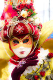 Venice Mask, Carnival. Soft focus picture of venetian carnival mask. Shot with a flou filter to make a dreaming effect Stock Photography