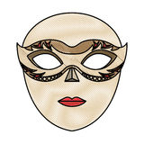 Venice mask icon Stock Photo