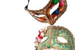 Venice Mask, Isolated on white. Royalty Free Stock Image