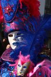 VENICE MASK 25. VENICE MASK IN SAN MARCO DURING THE CARNAVAL Royalty Free Stock Photography