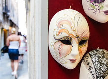 Venice mask. On the street, summer Royalty Free Stock Images