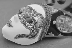 Venice mask. A traditional venice mask from the faimous Carnival in Venice Stock Photography