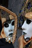 VENICE MASK 15. VENICE MASK IN SAN MARCO DURING THE CARNAVAL Royalty Free Stock Photography
