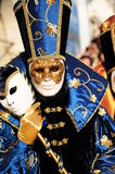 Venice masks. On a carnival which became traditional Royalty Free Stock Image