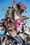 Venice masks with bells Stock Images