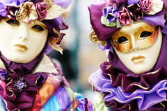 Venice Masks, Carnival. Stock Photo