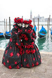 Venice Masks, Carnival. Stock Images