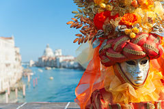 Venice masks, carnival. Royalty Free Stock Photo