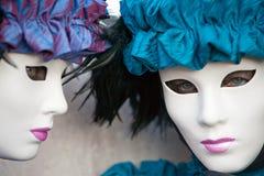 Venice Masks, Carnival. Stock Images