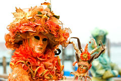 Venice Masks, Carnival. Royalty Free Stock Image
