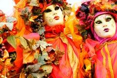Venice Masks, Carnival. Italy. Stock Image