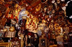 Venice masks shop Royalty Free Stock Photography