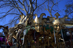 Venice masks stand Stock Photo