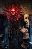 Venice Masks. Venician masks in window shop Stock Photography