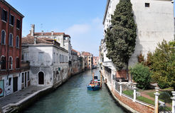 Venice. Medieval city in Italy. full of historic houses. famous by the palace of the Doge and the Marcus place Stock Images