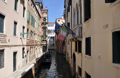 Venice. Medieval city in Italy. full of historic houses. famous by the palace of the Doge and the Marcus place Stock Photo