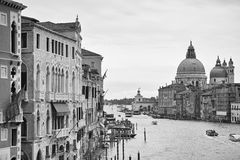 Venice in monochrome Stock Photography