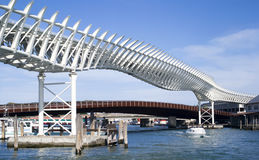 The Venice Monorail line Royalty Free Stock Photo