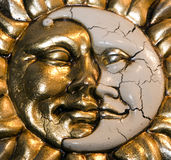 Venice- moon and sun Royalty Free Stock Photo