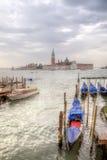 Venice morning. Island of San Giorgio Maggiore Stock Image