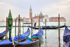 Venice morning. Island of San Giorgio Maggiore Royalty Free Stock Image