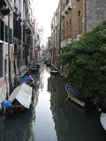 Venice. Morning on the Venetian canal Royalty Free Stock Photo