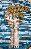 Venice - mosaic of st. Mark column Stock Photos