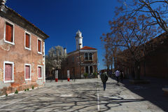 Venice, Murano during sunny, spring day Stock Photo