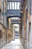 Venice. Narrow street Stock Photos