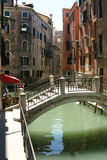 Venice - nice view with bridge. A very nice bridge in Venice royalty free stock photography