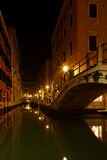 Venice by night Royalty Free Stock Photo