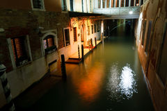 Venice by night Stock Photo