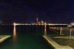 Venice by night Royalty Free Stock Photos
